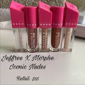 Jeffree x Morphe Lippies